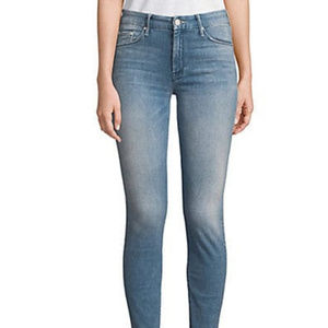 MOTHER Frayed Ankle Length Jeans
